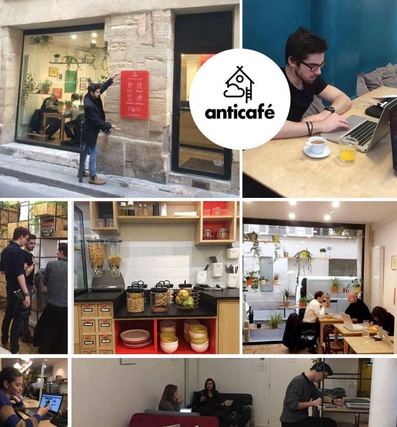 L'Anticafé Beaubourg