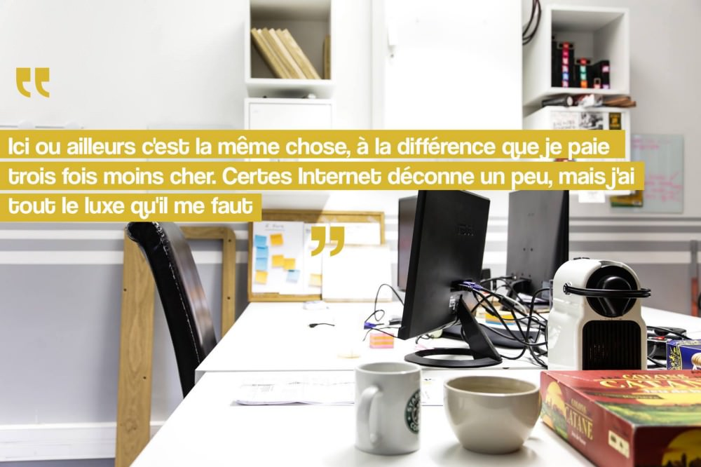 Citation d'Ali Erhouni, fondateur de la start-up Firefly Media Sénégal