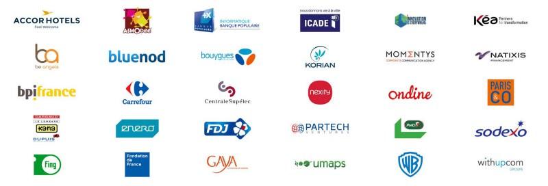 Les différents partenaires de l'Innovation Factory