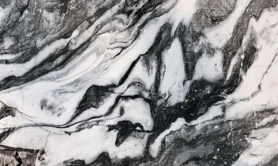 marbre noir et blanc