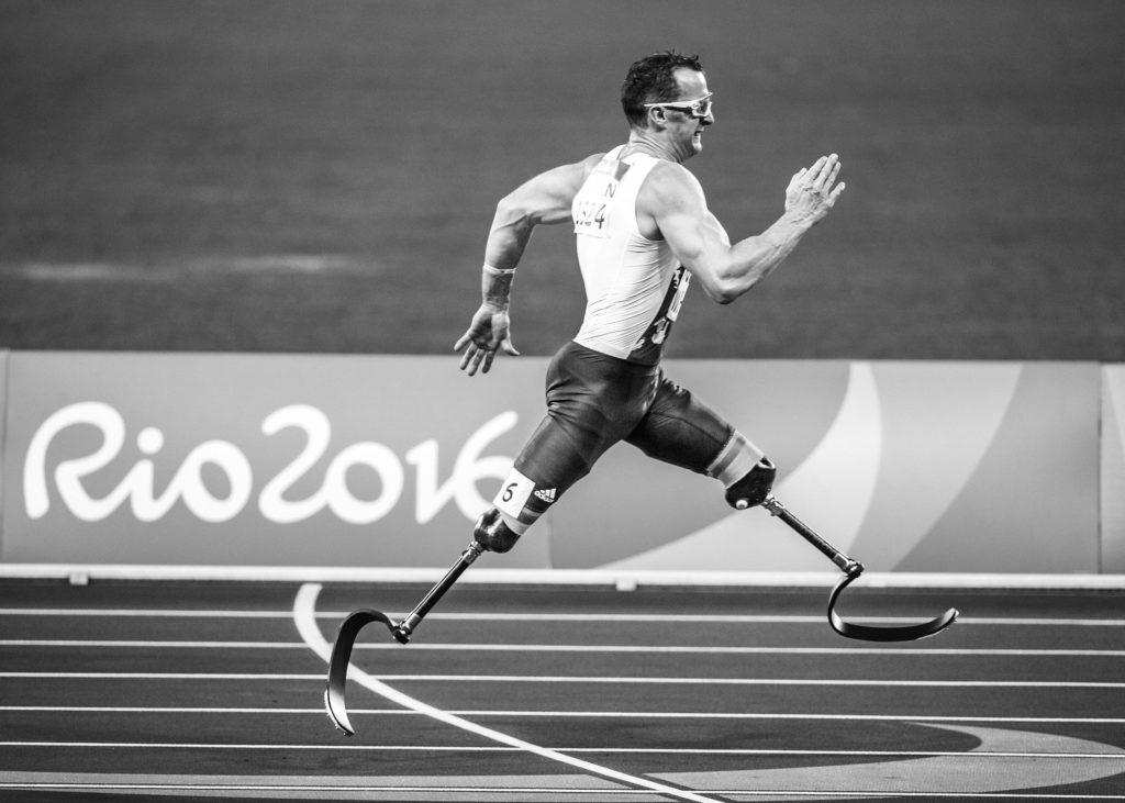 Athlète paralympique